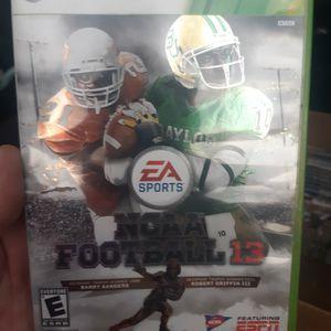 Xbox360 Ncca13 $30.00 for Sale in DeFuniak Springs, FL