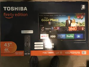 "43"" 4K Smart TV Fire TV Edition NEGOTIABLE for Sale in Virginia Beach, VA"