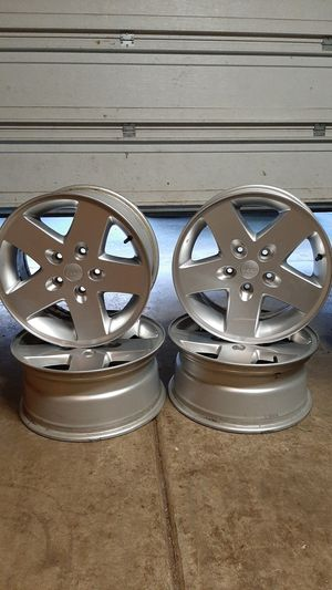 """JEEP RIMS 17"""" 5×5 bolt pattern for Sale in Battle Ground, WA"""
