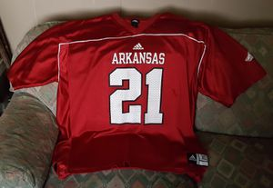 Adidas Razorbacks mens XL Jersey for Sale in Conway, AR