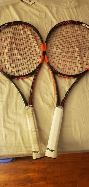 2x Babolat Pure Strike Tour Tennis Racquet Racket 4 3/8 Grip for Sale in Hawaiian Gardens, CA