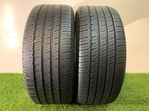 Q136 225 40 19 Michelin Primacy mxm4 Run Flat - 2 used tires for Sale in Orlando, FL