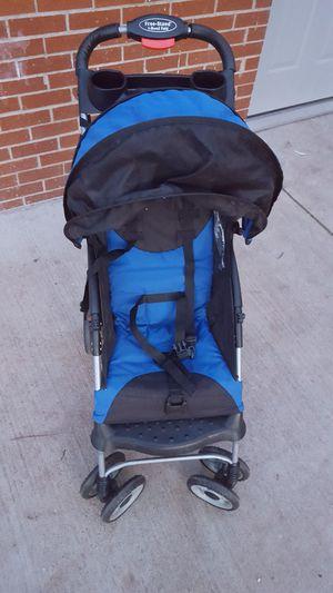 A blue baby stroller for Sale in Manassas, VA
