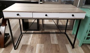 NEW White & Weathered Chelsea Laptop Desk for Sale in Burlington, NJ