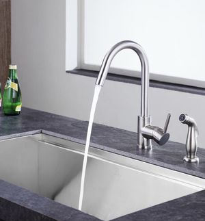 Anzzi Nickel Kitchen Faucet for Sale in Silver Spring, MD