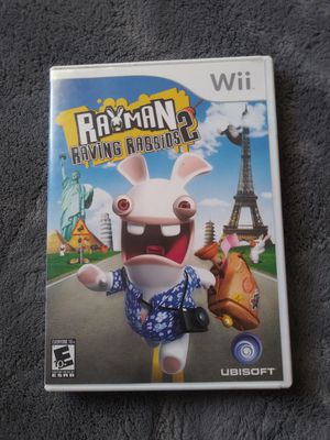 Rayman raving rabbids 2 for Sale in Garden Grove, CA