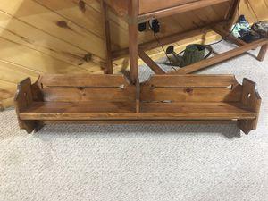 Wood wall shelf for Sale in Lakeside, AZ