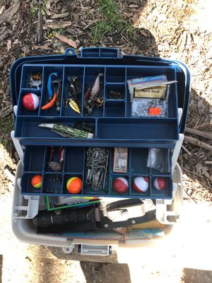 Fishing tackle box for Sale in Chicago, IL