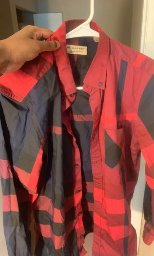 Designer Burberry limited dress shirt size M for Sale in Durham, NC