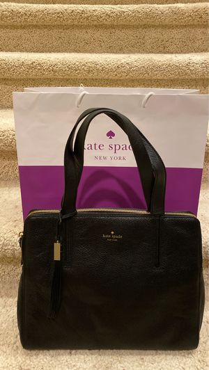 Kate Spade Beautiful Black Leather Double Zipper. New With Tag $478 for Sale in San Diego, CA