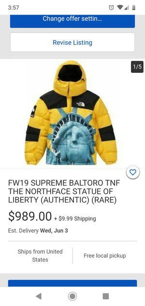 Supreme x The NorthFace Baltoro For TRADE for Sale in Oakland, CA
