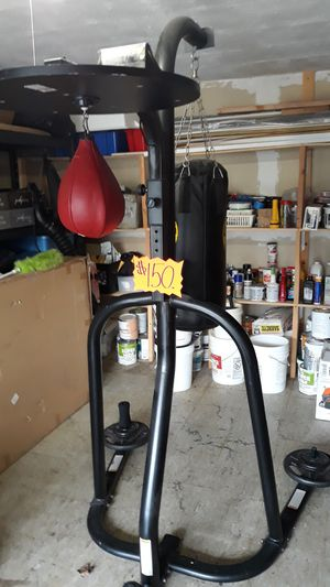 Boxing Heavy Bag & Speed Bag Stand.. for Sale in Great Neck, NY