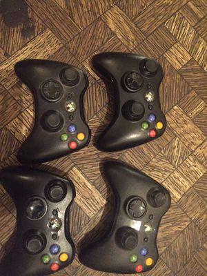 Xbox 360 wireless controllers for Sale in Orange, CA