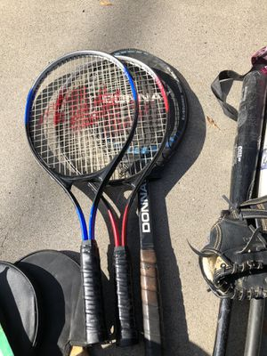 SPORTS! Tennis, baseball! Table tennis for Sale in Colton, CA