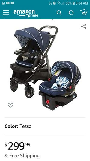 Graco stroller 4 in 1 infant car seat travel system set for Sale in Des Plaines, IL