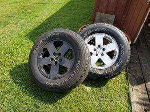 07 to 18 jeep wrangler wheels for Sale in Jonestown, PA