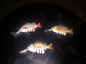 5 segment fishing bait for Sale in Arlington, VA