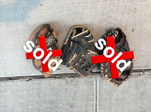 Softball Gloves for Sale in Phoenix, AZ