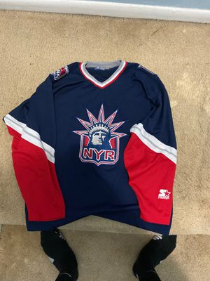 Starter Hockey Jersey New York Rangers XL for Sale in Severn, MD
