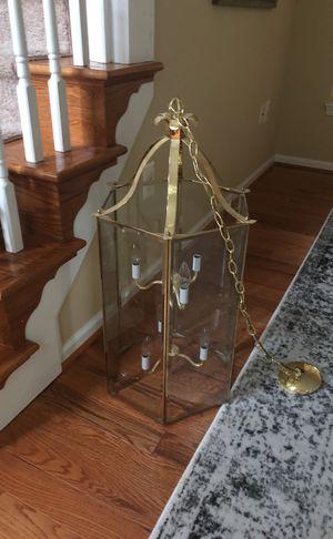 Gold 6 light chandelier - foyer for Sale in Leesburg, VA