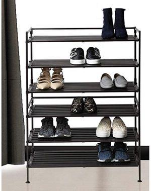 Seville Classics 3 Tier Resin Slat Utility Shoe Rack (2 Pk) for Sale in Philadelphia, PA