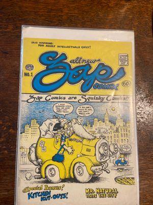 Zap Comix 1 Robert Crum comic for Sale in Irwindale, CA