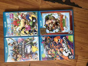 Wii U games for Sale in Santa Clara, CA