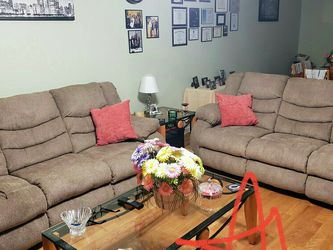 ☄39$ Down Payment☄Tulen Mocha Reclining Sofa for Sale in Owings Mills,  MD