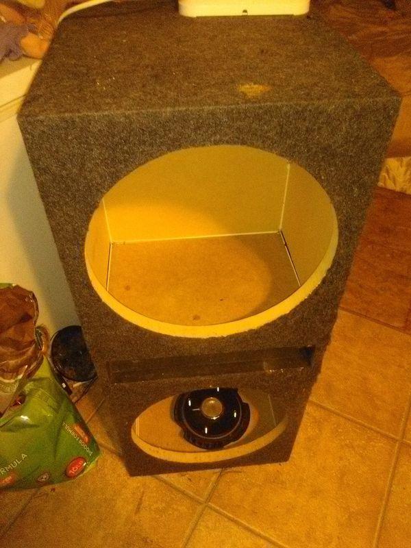 15in speaker box