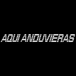 AQUI ANDUVIERAS Tailgate decal for Sale in Colton,  CA