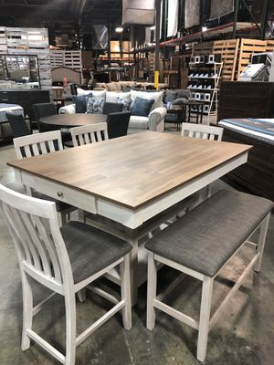 Brand new. Pub height (6 piece ) dining set for Sale in La Vergne, TN