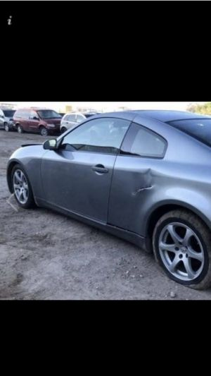 2005 infinity G35 complete parts only for Sale in Moreno Valley, CA