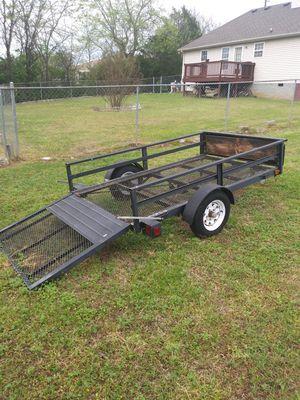 4×8 lawn mower trailer for Sale in Nashville, TN