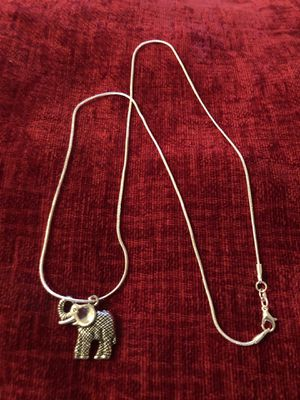 Beautiful Elephant Necklaces for Sale in Perris, CA