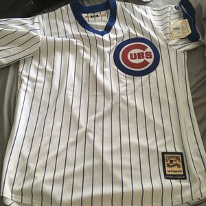 Chicago Cubs Cooperstown Jersey Never Worn Size L for Sale in Newport News, VA