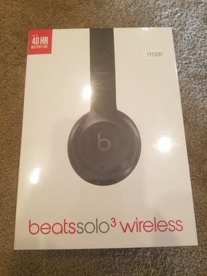 Brand New Beats Solo 3 wireless for Sale in West Jordan, UT