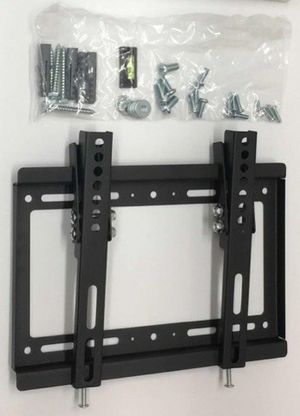 "New Universal Wall TV Mount Fits 17"" to 37"" TV Sizes Tilt Adjustable Heavy Duty for Sale in Pico Rivera, CA"