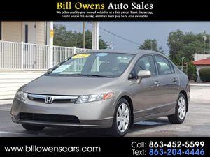2008 Honda Civic Sdn for Sale in Avon Park, FL