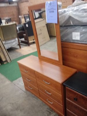 Tanner Dresser with Mirror for Sale in Greensboro, NC