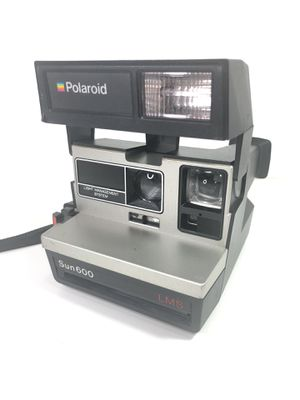 Vintage Polaroid Sun 600 LMS Instant Film Flash Camera Untested for Sale in Milford, CT
