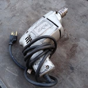 VINTAGE SILVER SKIL DRILL for Sale in Tampa, FL