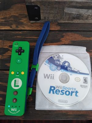 Luigi remote & Wii sports resort for Sale in San Diego, CA