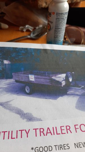 Utility trailer for sale for Sale in Fort Lauderdale, FL