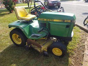 John Deere 318 garden tractor for Sale in Sharpsburg, MD