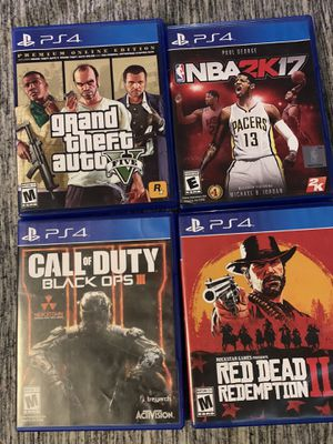 Used PS4 games for Sale in Germantown, MD