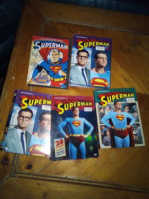 Superman collection DVD for Sale in Powder Springs, GA