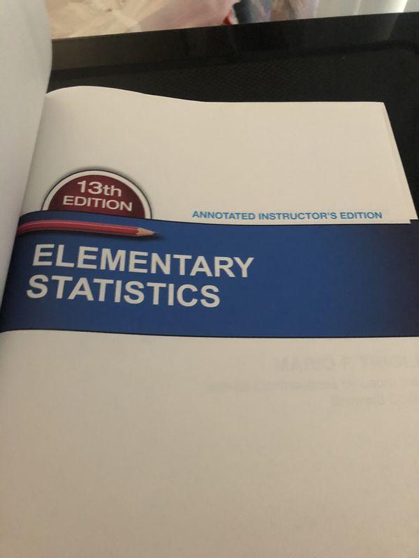 Elementary Statistics Book