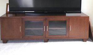 Cherry Entertainment Cabinet for Sale in Charlotte, NC