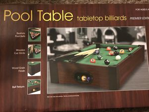 Mini Pool table for Sale in Madera, CA
