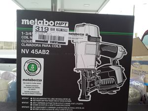 Metabo Roofing Nail Gun for Sale in Detroit, MI